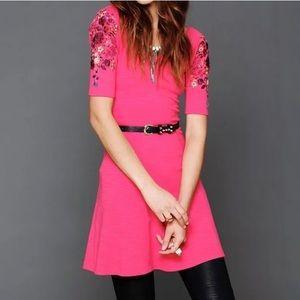 💋Free People Anthropology Garden Sleeve Dress